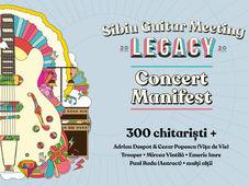 Concert 300+ chitariști - Sibiu Guitar Meeting