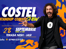 Iasi: One Man Show Costel