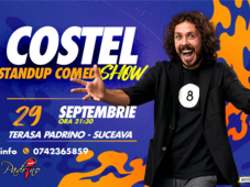 Suceava: One Man Show Costel