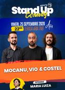 Stand up comedy at TNB cu Mocanu, Vio și Costel