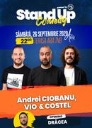 Stand up comedy at TNB cu Andrei Ciobanu, Vio și Costel