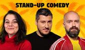 Mamaia: Stand Up Comedy cu Sorin Parcalab, Cristi Popesco si Ioana Luiza