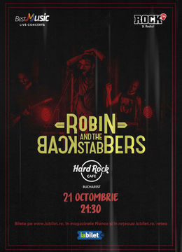 Concert Robin And The Backstabbers