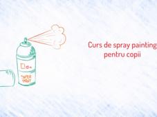 PlaYouth: Curs de spray painting pentru copii