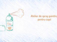 PlaYouth: Atelier de spray painting pentru copii