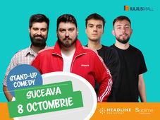 Suceava: Stand-up comedy cu Micutzu, Geo, Mirică și Cîrje