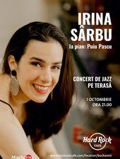 Concert Irina Sârbu pe terasă