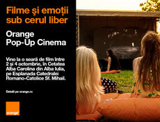Alba Iulia: Filme Orange Pop-up Cinema