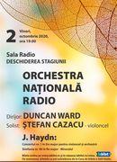 Sala Radio: Duncan Ward - Ștefan Cazacu - Deschiderea Stagiunii