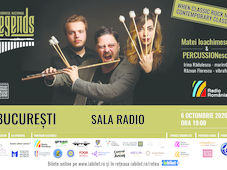 Sala Radio: Matei Ioachimescu & PERCUSSIONescu – Turneul LEGENDS