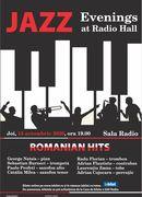 Sala Radio: Jazz Evenings at Radio Hall – Romanian Hits#2