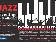Sala Radio: Jazz Evenings at Radio Hall – Romanian Hits#2