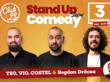 Stand up comedy cu Teo, Vio, Costel si Bogdan Dracea la Club 99