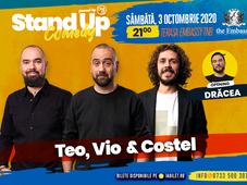 Stand up comedy at TNB cu Teo, Vio, Costel si Bogdan Dracea