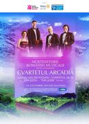 Sala Radio: Concert Cameral sustinut de Cvartetul Arcadia