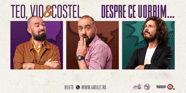 Brașov: Teo, Vio și Costel - Despre ce vorbim Show 4