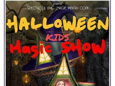 ,,Halloween Magic Kids Show'' la Gradina Urbana