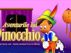 ,,Aventurile lui Pinocchio'' la terasa Parol Bistro