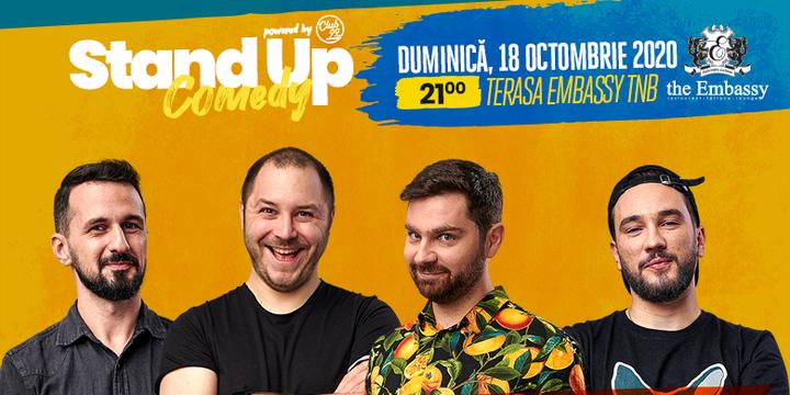 Stand up comedy at TNB cu Mocanu, Malaele, Gheba si Dracea