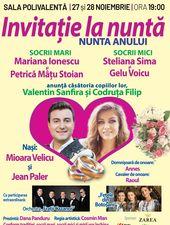 Invitatie la nunta anului! 28 Noiembrie