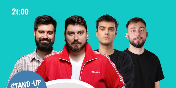 Suceava: Stand-up comedy cu Micutzu, Geo, Mirică și Cîrje de la ora 21:00
