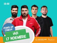 Iasi: Stand-up comedy cu Micutzu, Geo, Mirică și Cîrje de la ora 18:00