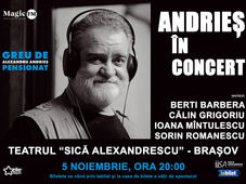 Brasov: Andries in concert