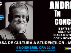 Iasi: Andries in concert