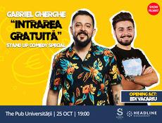 """Filmare Special: Gabriel Gherghe """"Intrarea Gratuită"""""""