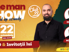 One man show cu Teo, invitați Dracea și Malaele la Club 99 TNB