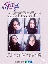 Concert Alina Manole - Luna Pătrată LIVE on-line