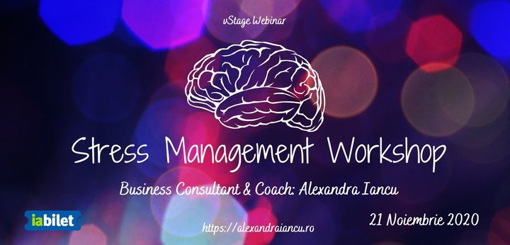 Stress Management Workshop @ vStage