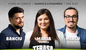 TERASA INCALZITA Stand-up cu Maria, Mincu și Banciu la ComicsClub!