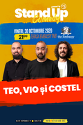 Stand up comedy at TNB cu Teo, Vio si Costel