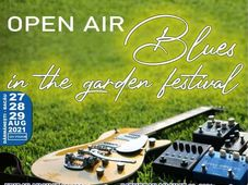 Open Air Blues in the garden festival - Ediția #2
