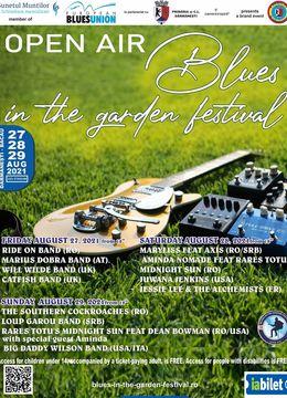 Open Air Blues in the garden festival - Ediția #2