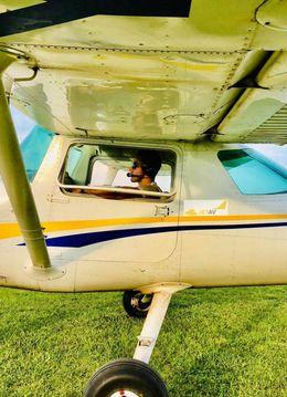 Zbor de initiere cu avionul peste Valea Prahovei si Valea Oltului