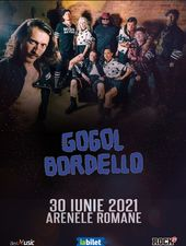Concert Gogol Bordello la Bucuresti