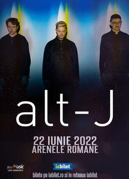 Concert alt-J  la Bucuresti