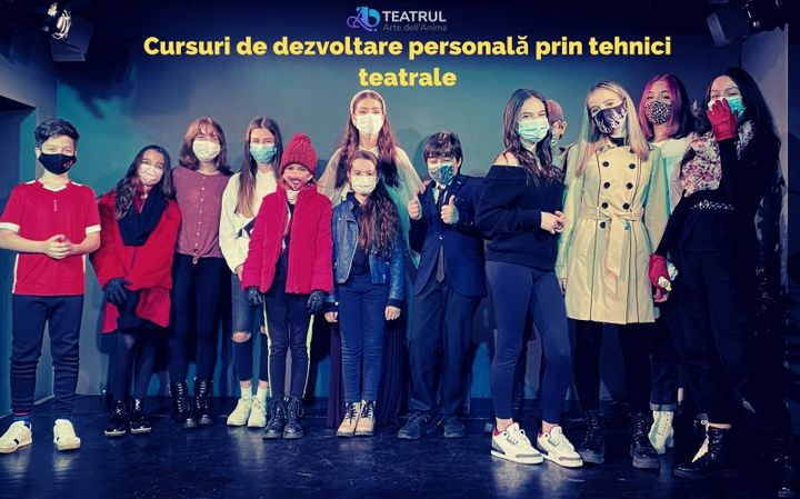 Curs de dezvoltare personală prin Tehnici Teatrale pentru copii - Grupa 8-10 ani