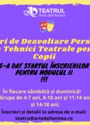 Curs de dezvoltare personală prin Tehnici Teatrale pentru copii