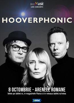 Hooverphonic canta pe 8 octombrie la Arenele Romane