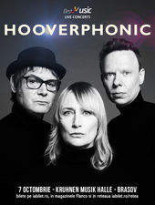 Hooverphonic canta pe 7 octombrie la Kruhnen Musik Halle