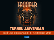 Iasi: Trooper - Turneu aniversar