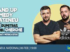 Iasi: Stand-Up Comedy la Ateneu | Bobi Dumitraș & Gabriel Gherghe