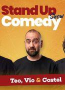 Stand up comedy la Club 99 cu Teo, Vio, Costel & Drăcea Show 2