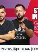Stand Up in The Pub cu Bobi Dumitraș & Gabriel Gherghe