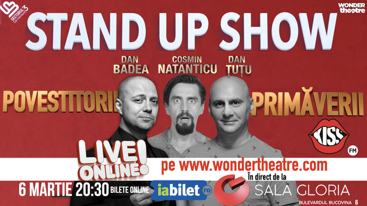 Dan Badea, Cosmin Natanticu, Dan Tutu - Povestitorii Primaverii (Stand up Show)