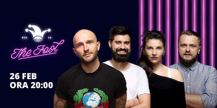 The Fool: Stand-up comedy cu Bordea, Cortea, Geo și Teodora