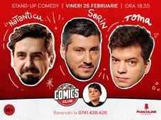 Stand-up cu Natanticu, Toma si Sorin la ComicsClub! Show 1